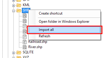 Contextual function to Import in one go the content of all the files from a folder