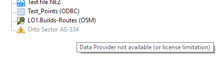 USD Data Provider not available