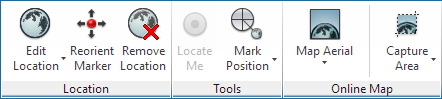 'Geolocation' Ribbon Tab in AutoCAD 2016