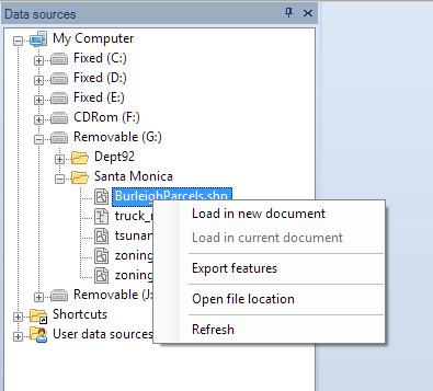Another way to access spatial data files