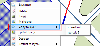 'Copy to layer' function