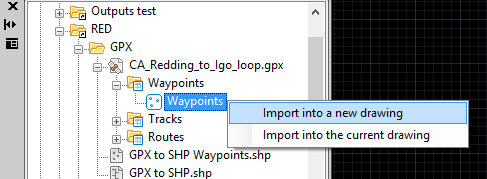 Import a table in a file into GstarCAD